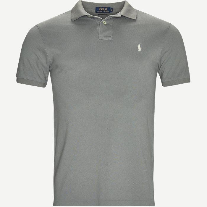 Polo T-shirt - T-shirts - Grå